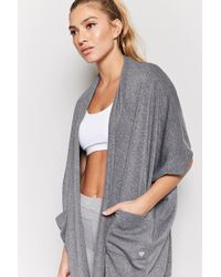 Forever 21 - Active Longline Cocoon Cardigan - Lyst