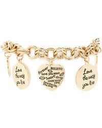 Forever 21 - True Love Charm Bracelet - Lyst