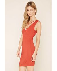 Forever 21 - Women's Contemporary Y-front Dress - Lyst
