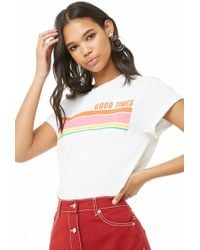 Forever 21 - The Style Club Good Times Graphic Tee - Lyst
