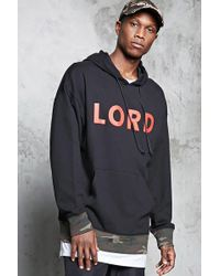 Forever 21 - Lord Graphic Hoodie - Lyst