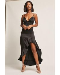 Forever 21 - Ruffle High-low Dress - Lyst