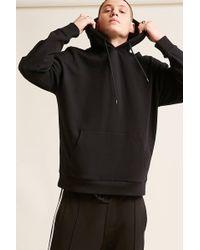 Forever 21 - Drop-shoulder Fleece Hoodie - Lyst