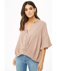 f09a6adecc8 Women's Forever 21 Tops - Lyst