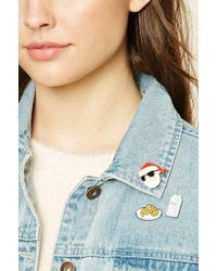 Forever 21 - Santa Claus Pin Set - Lyst