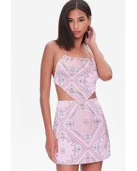 Forever 21 - Paisley Print Mini Skirt - Lyst