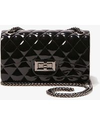 Forever 21 Quilted Crossbody Bag , Black