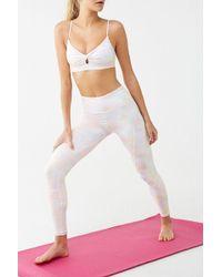 2b55117423893 Hue. Watercolor Floral Cotton Capri Legging. $24. Dillard's. Forever 21 -  Active Watercolor Leggings - Lyst
