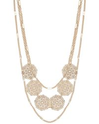 Forever 21 - Filigree Charm Layered Necklace - Lyst