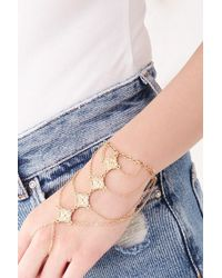 Forever 21 - Ornate Hand Chain - Lyst