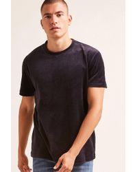 Forever 21 - Terry Cloth Tee - Lyst