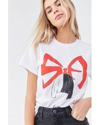 Forever 21 Sia Graphic Tee - White