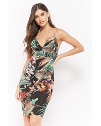 Forever 21 - Floral Tropic Cami Dress - Lyst