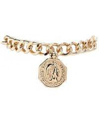 Forever 21 - Coin Chain Bracelet - Lyst