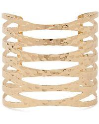 Forever 21 - Geo Cuff Bracelet - Lyst