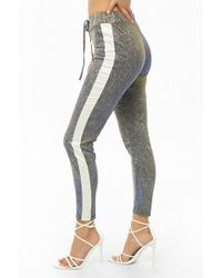 Forever 21 - Iridescent Metallic Trousers - Lyst