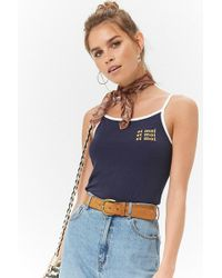 Forever 21 - Et Moi Graphic Cami - Lyst