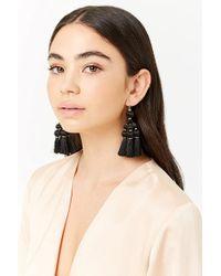 Forever 21 - Women's Tassel Chandelier Earrings - Lyst