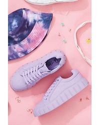Forever 21 Low-top Canvas Sneakers - Purple