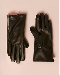 Forever 21 - Faux Leather Touchscreen Gloves - Lyst