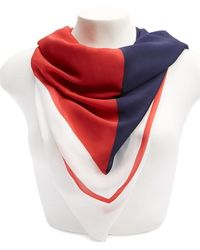 Forever 21 - Sheer Colorblock Scarf - Lyst
