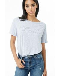 Forever 21 - Lovers Lost In London Graphic Tee - Lyst