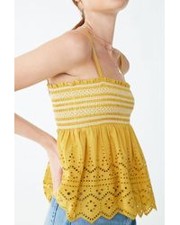 ec580fb7f14 Lyst - Forever 21 Baby Girl Tube Top in Yellow