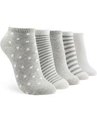 Forever 21 - Ankle Socks - 5 Pack - Lyst
