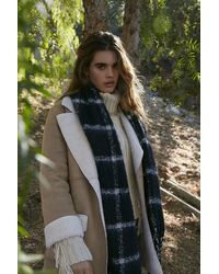 Forever 21 Faux Suede & Shearling Co - Brown