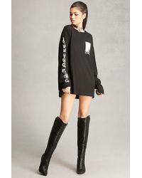 Forever 21 | Faux Leather Knee-high Boots | Lyst
