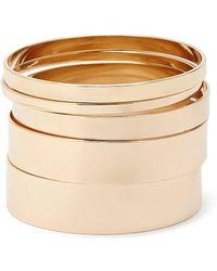 Forever 21 - Smooth Bangle Bracelet Set - Lyst