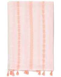 Forever 21 - Embroidered Tassel Scarf - Lyst