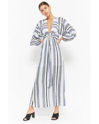 Forever 21 - Selfie Leslie Striped Maxi Dress - Lyst