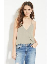 Forever 21 - Contemporary Textured Cami - Lyst