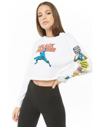 Forever 21 - The Black Panther Graphic Top - Lyst