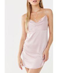 Forever 21 Satin Cami Dress , Pink