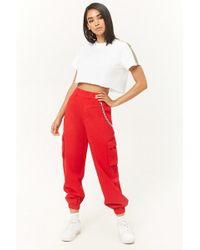 Forever 21 - Women's High-waist Cargo Trousers - Lyst