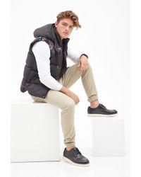 Forever 21 -inspired Puffer Vest - Black