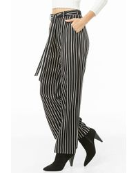 Forever 21 - Pinstriped Palazzo Pants - Lyst