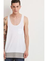 Forever 21 - Colorblocked Racerback Tank - Lyst
