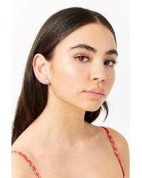 Forever 21 - Women's Faux Gem Starburst Stud Earrings - Lyst