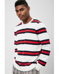 Forever 21 - 's Striped Knit Jumper - Lyst