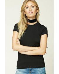 Forever 21 T-shirt Stretch - Nero