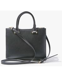 Forever 21 Structured Faux Leather Satchel - Black