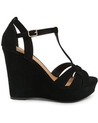Forever 21 - Qupid T-strap Wedges - Lyst