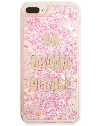 best cheap 3d35e 71052 Forever 21 Make Your Magic Waterfall Phone Case For Iphone 6/7/8 ...