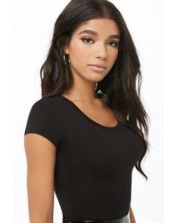 Forever 21 - Round Neck Tee - Lyst