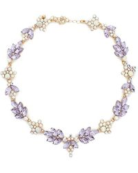 Forever 21 - Women's Iridescent Statement Necklace - Lyst