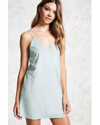 Forever 21 | Faux-suede Cami Dress | Lyst