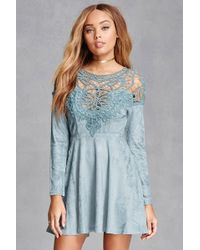 Forever 21 - Selfie Leslie Crochet Dress - Lyst